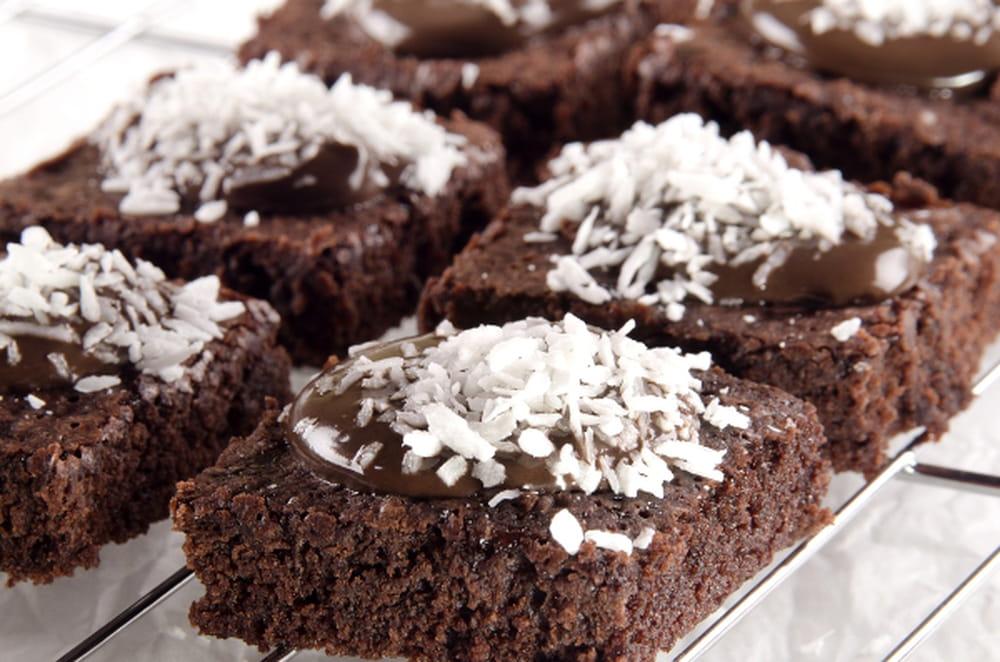 طريقة تحضير البسبوسة بالشوكولاتة 1045671