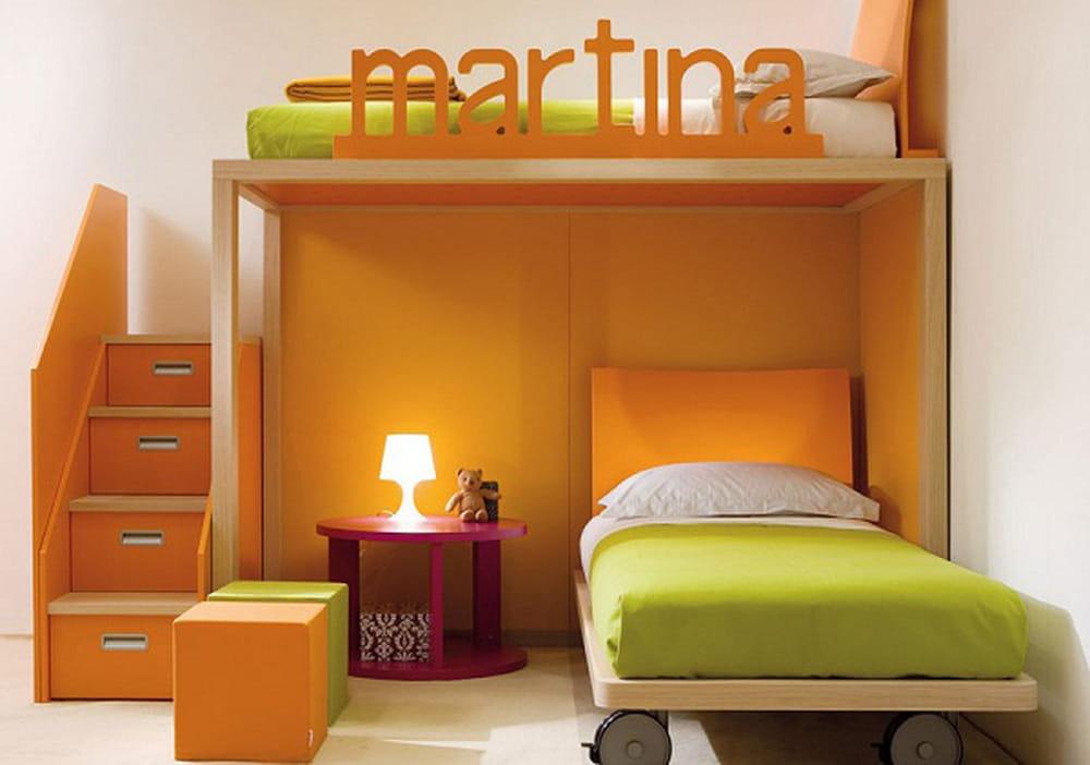 غرف نوم أطفال بتصاميم عملية للمساحات الصغيرة 1386072