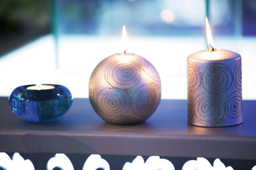 فكرة رائعة لاستخدام الشموع زفافك