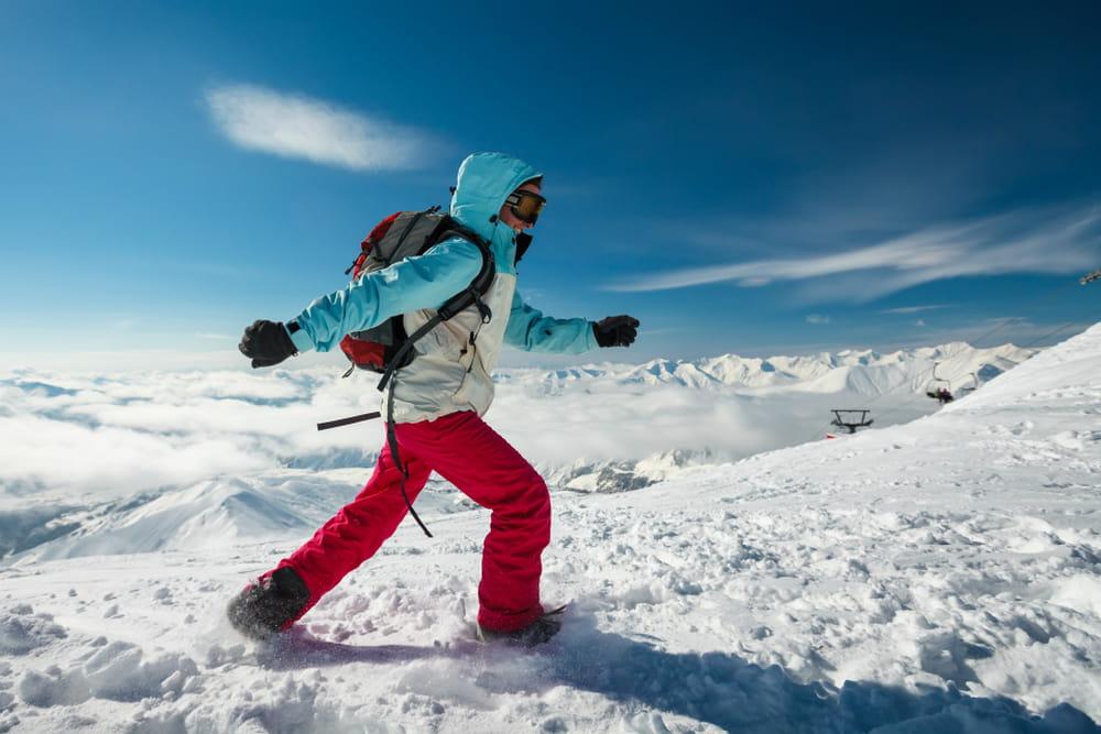 Ciaspolata: un semplice workout sulla neve
