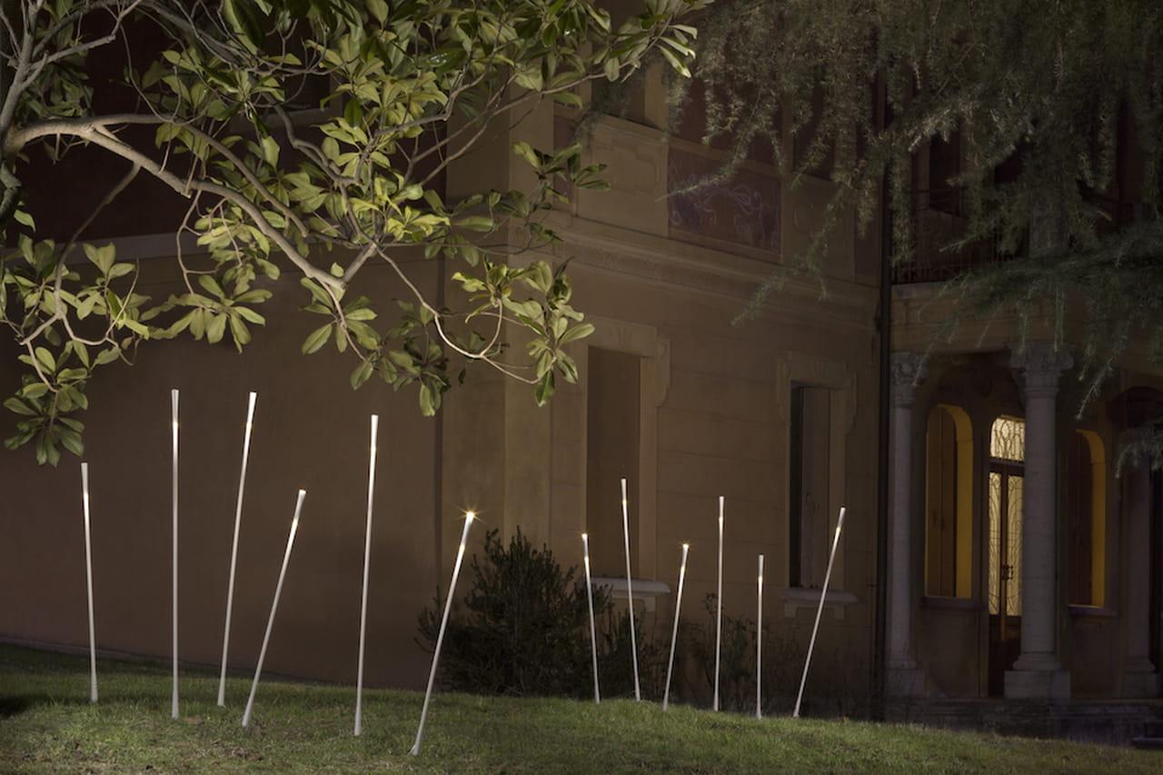Illuminazione giardino lampade luci e faretti di design for Illuminazione da giardino a led