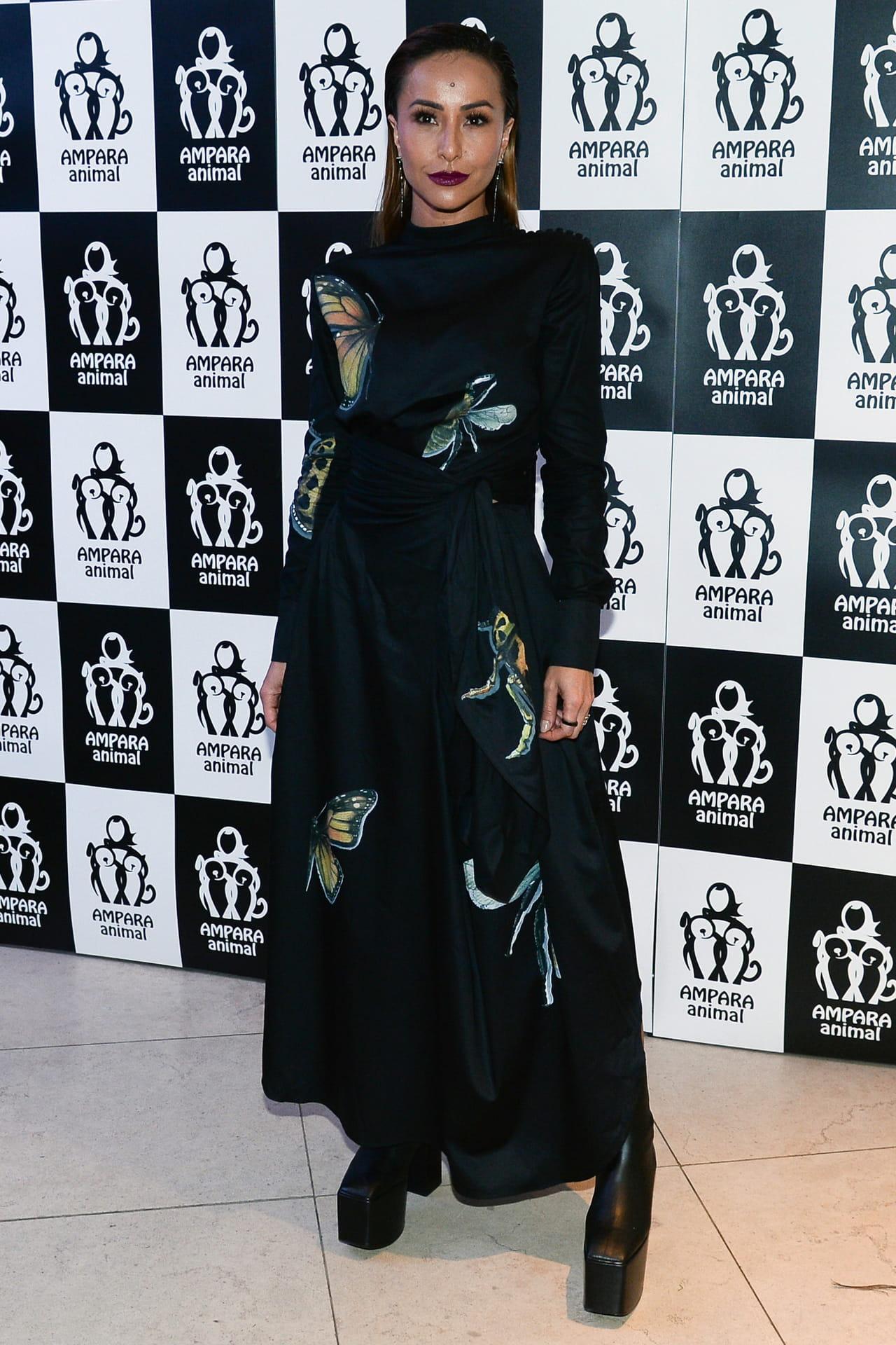 76f6c6239ccfa Sabrina Sato com vestido da grife Apartamento 03, que foi apresentado na  última edição da SPFW.