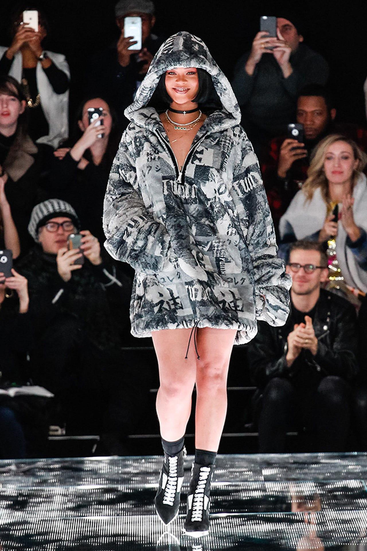 9765fad391 Rihanna lança coleção de roupas em parceria com a Puma