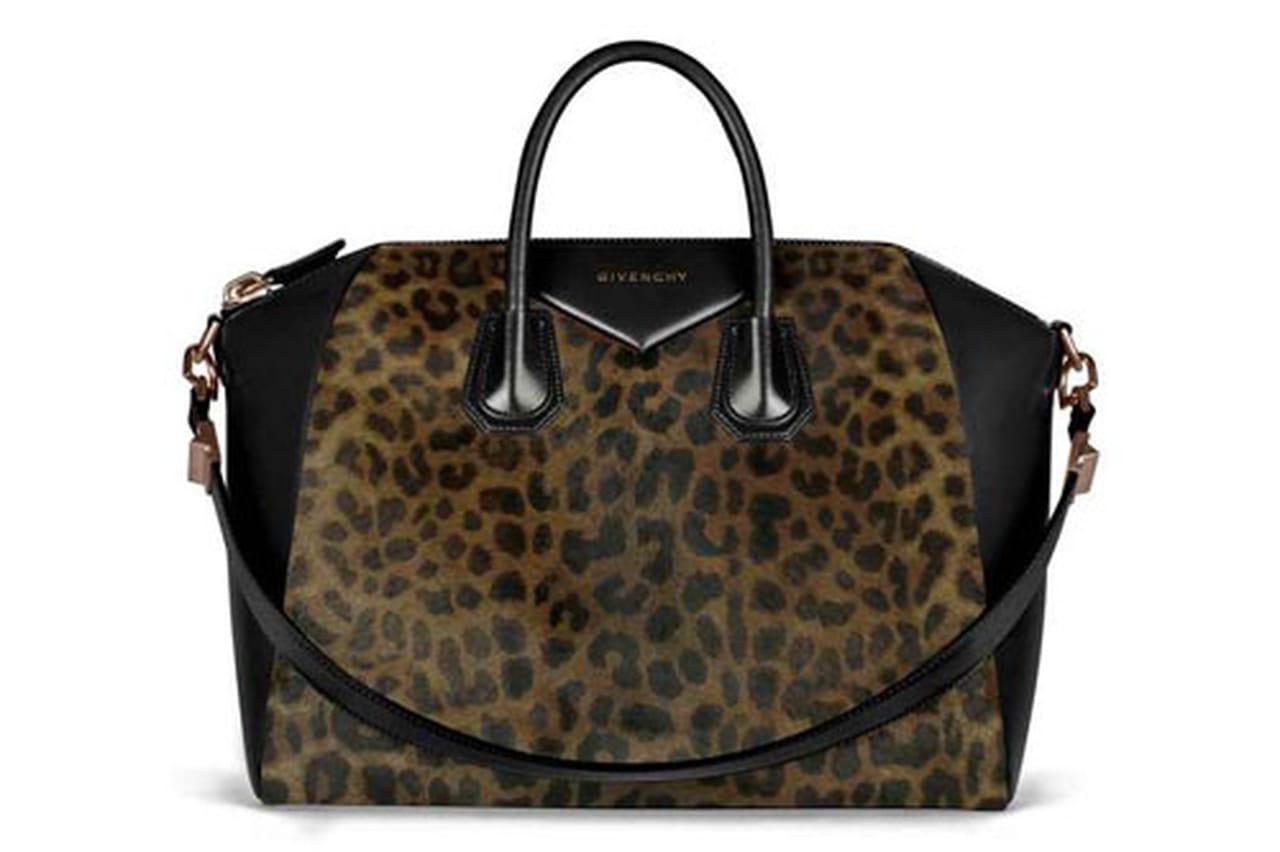 حقيبة دافئة بنقشة جلد الفهد من جيفنشي Givenchy
