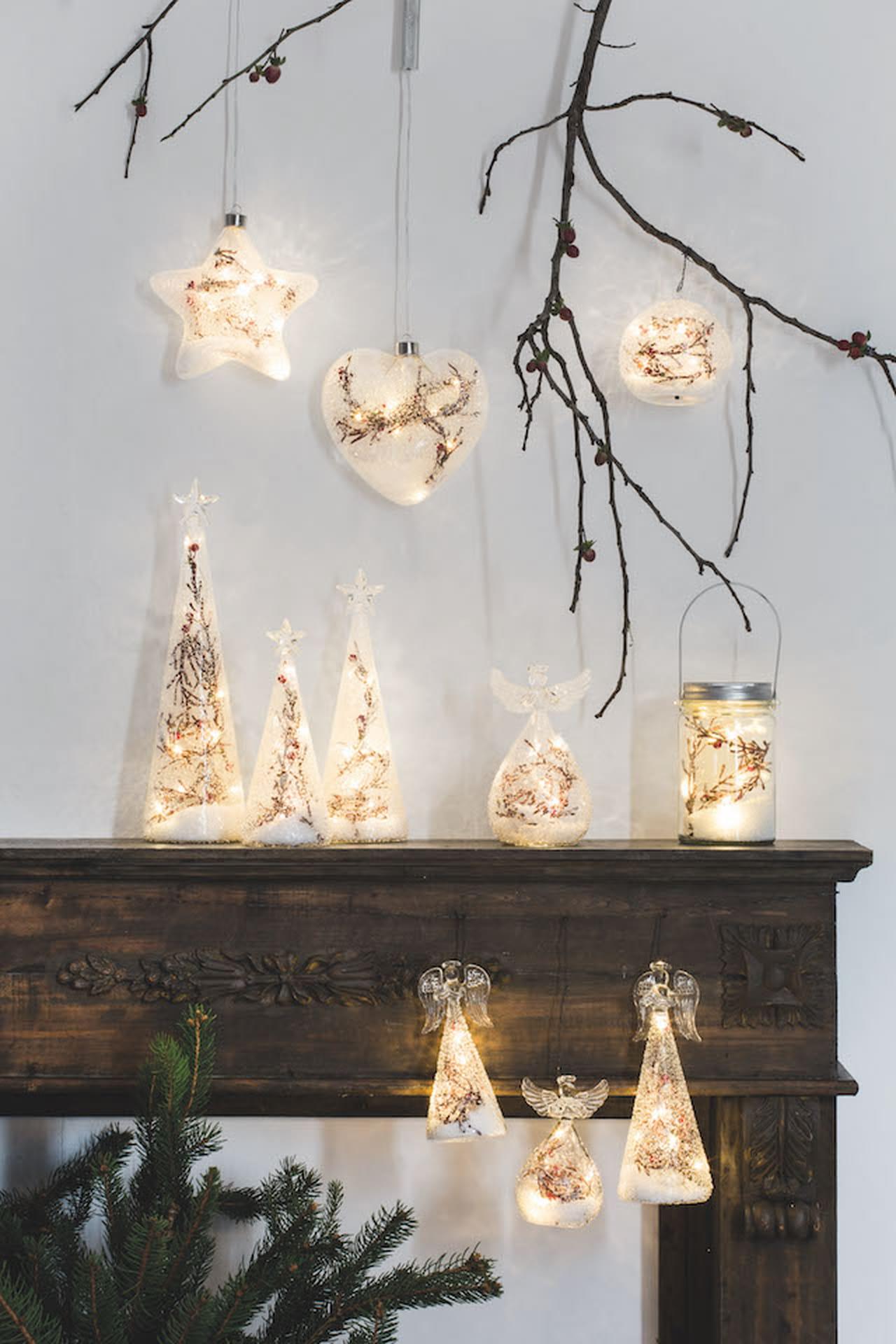 Decorazioni natalizie addobbi per la casa e la tavola - Decorazioni per casa ...