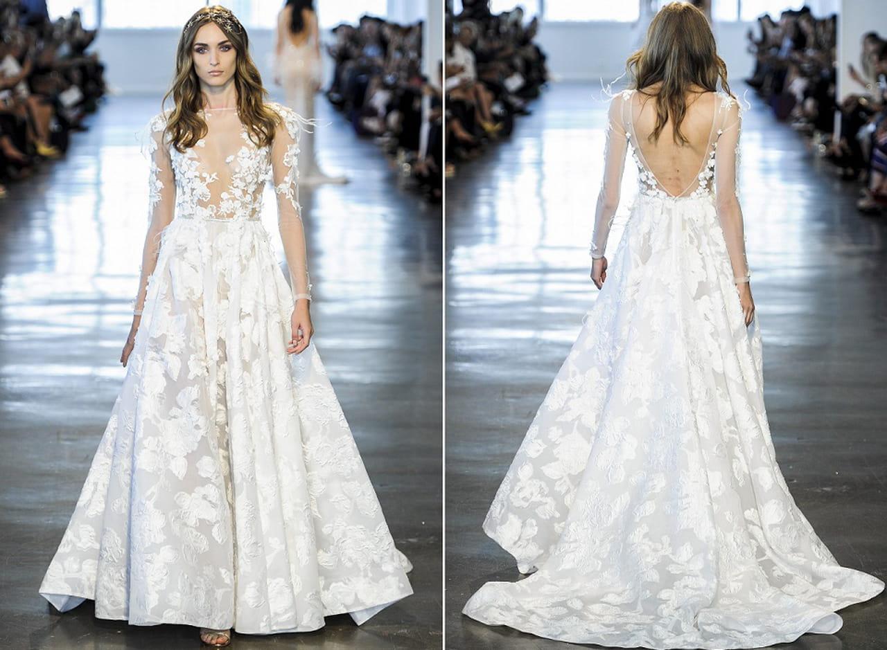 679cea51f مجموعة فساتين زفاف خريف 2018 بتوقيع بيرتا