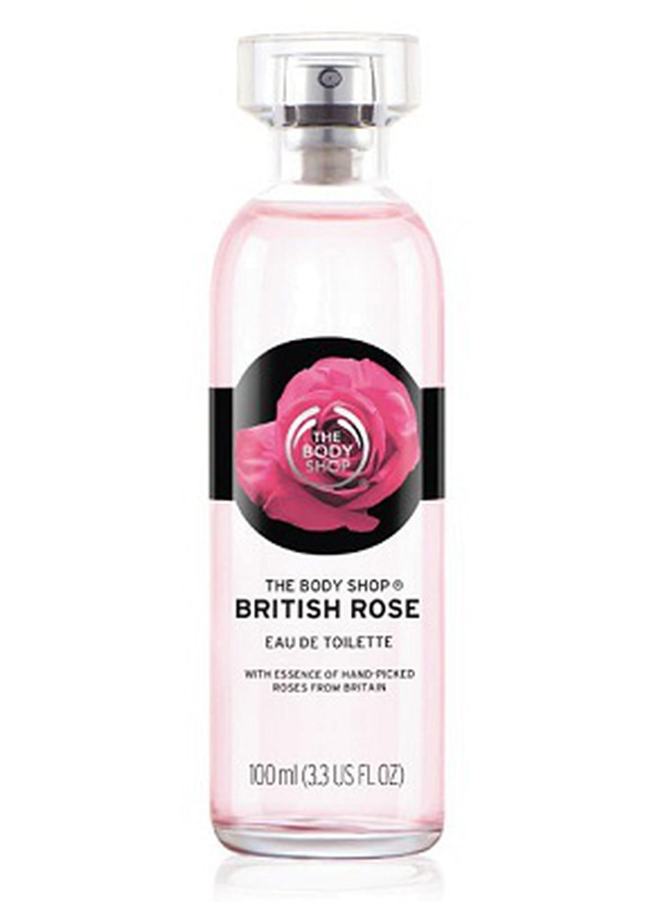 مجموعة British Rose من ذي بودي شوب لتدليل بشرتك