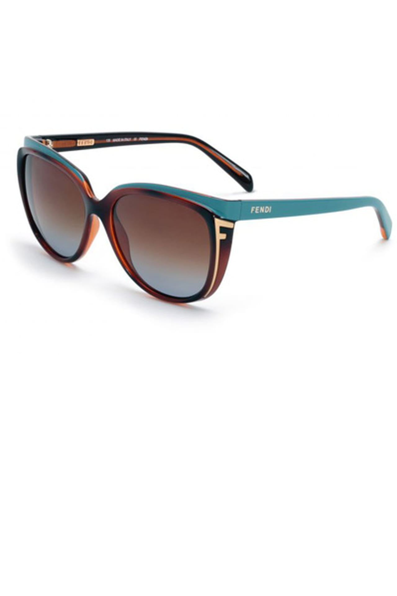 c43b90b72 نظارة شمسية ملونة من Fendi. من مجموعة Fendi لربيع وصيف 2013