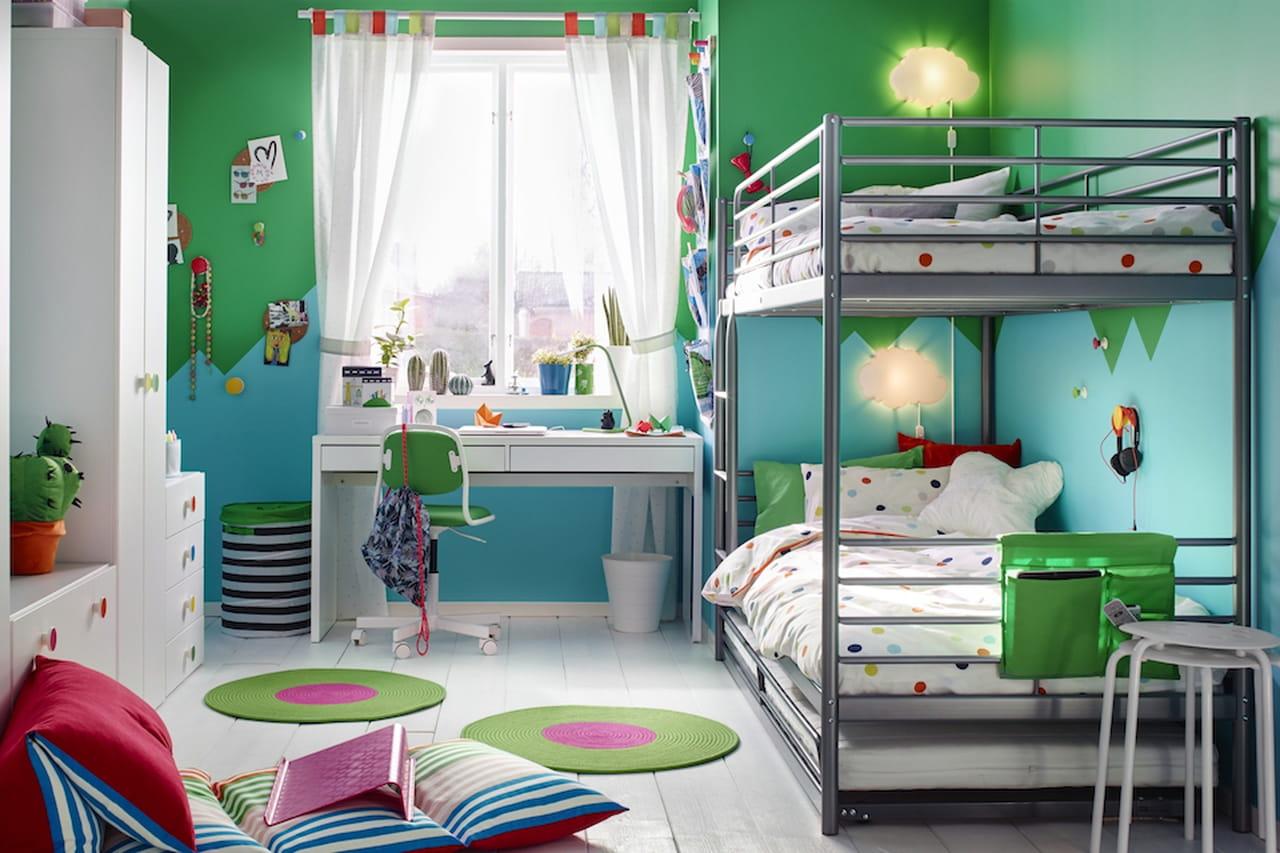 Camerette ikea proposte per neonati bambini e ragazzi - Ikea lampadario camera bambini ...