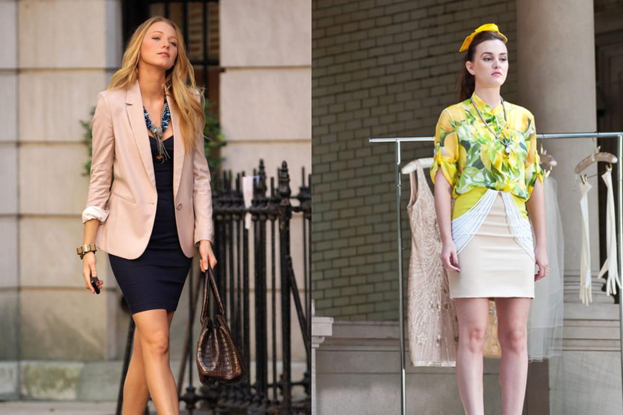 Guardaroba Di Gossip Girl.Blake Lively E Leighton Meester Sfida Di Look Tra Due Gossip Girl