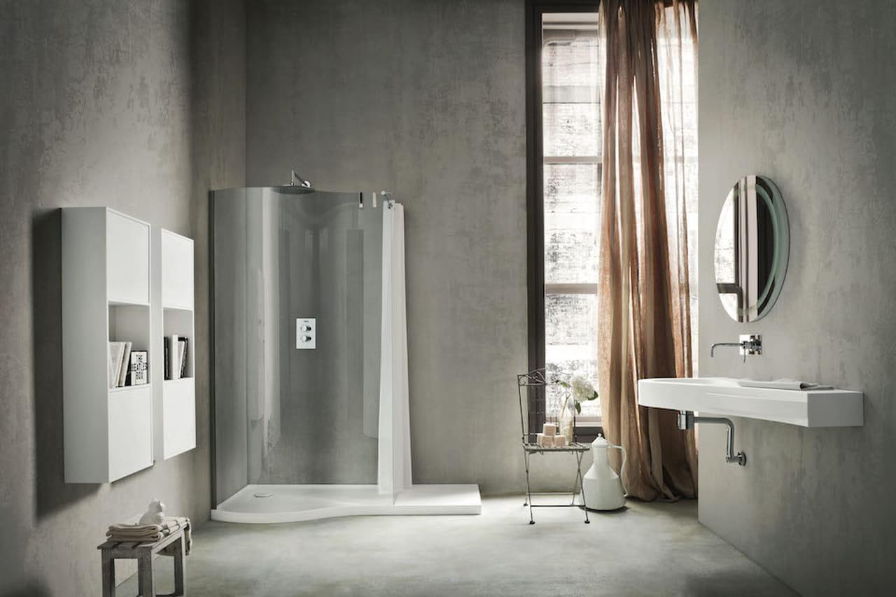 Fabulous arredo bagno rustico squadrato with arredamento - Bagno rustico moderno ...
