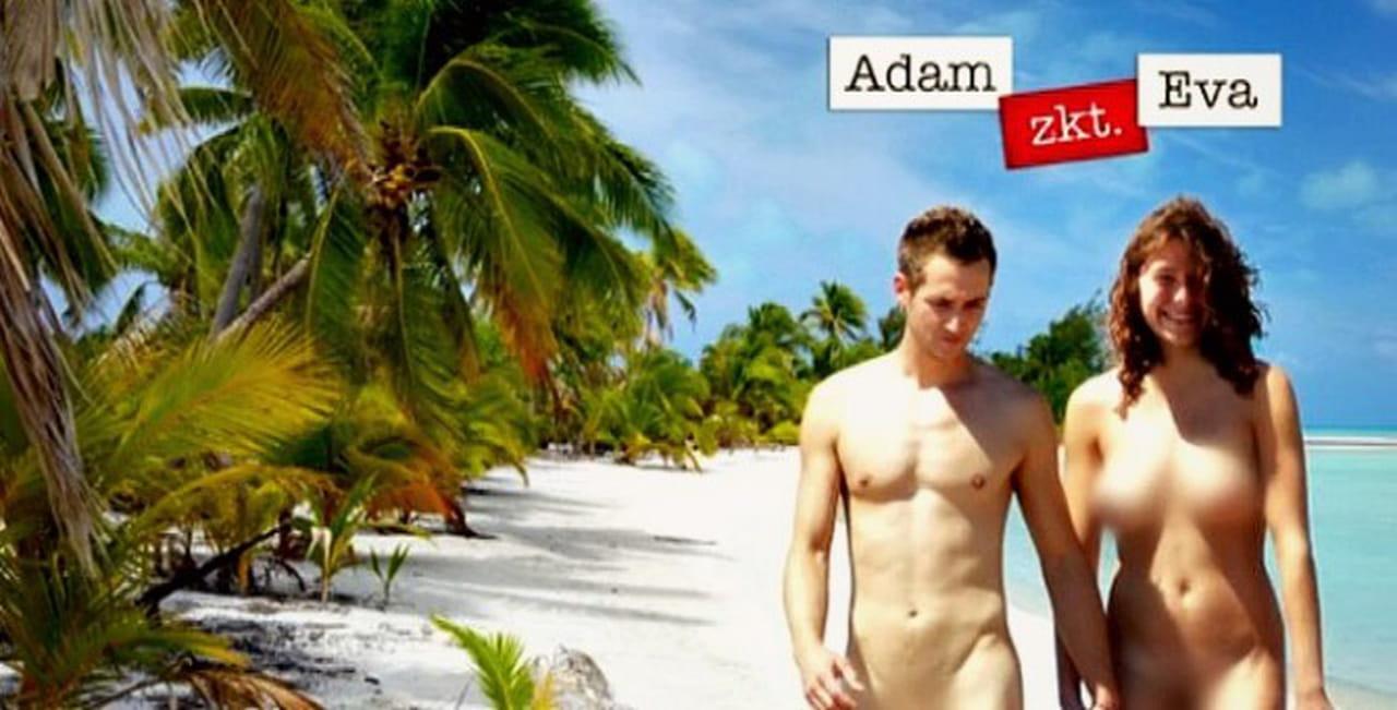Adam og Eva gynger sex nord