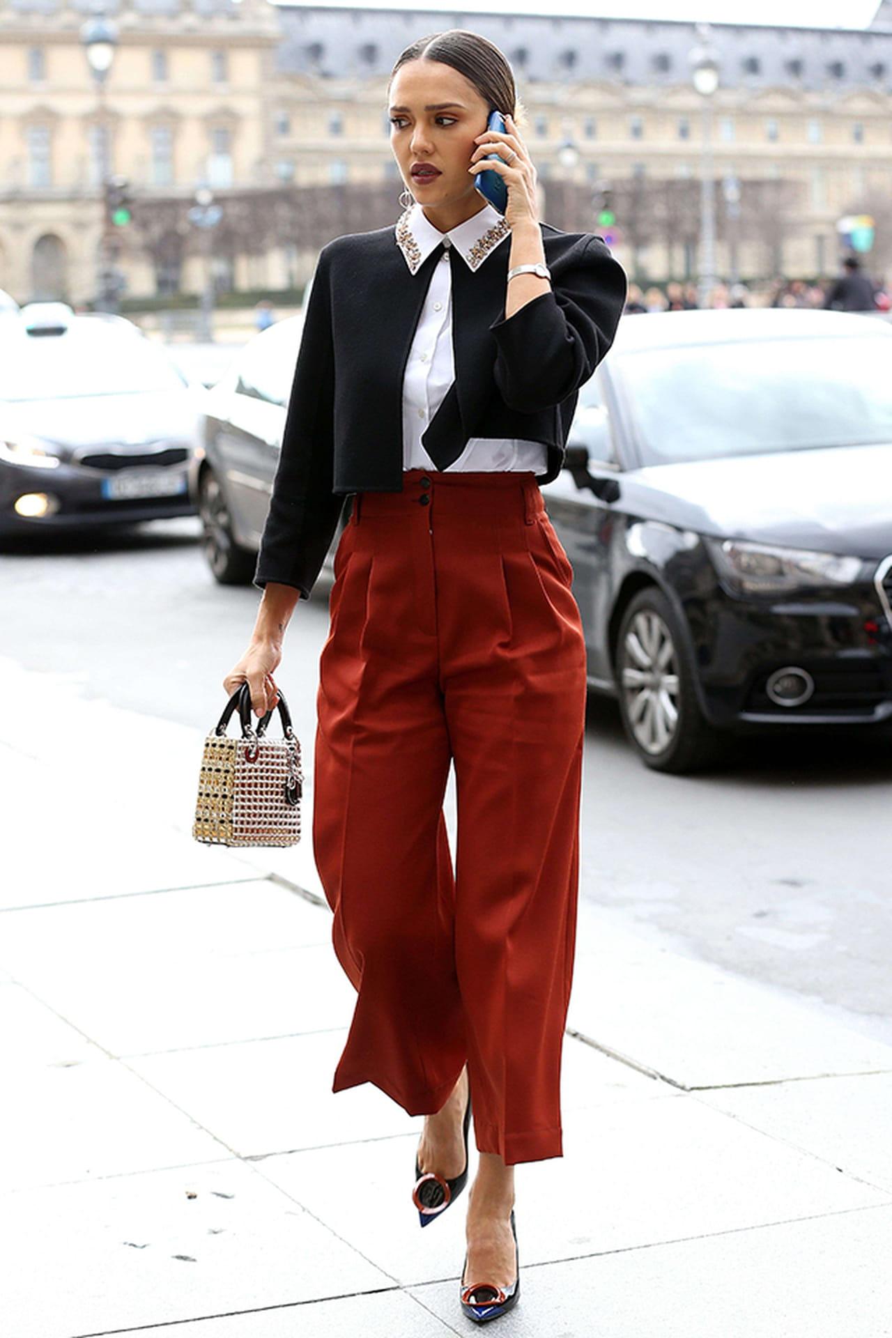 Look da semana jessica alba veste dior no desfile da for Sopas francesas famosas