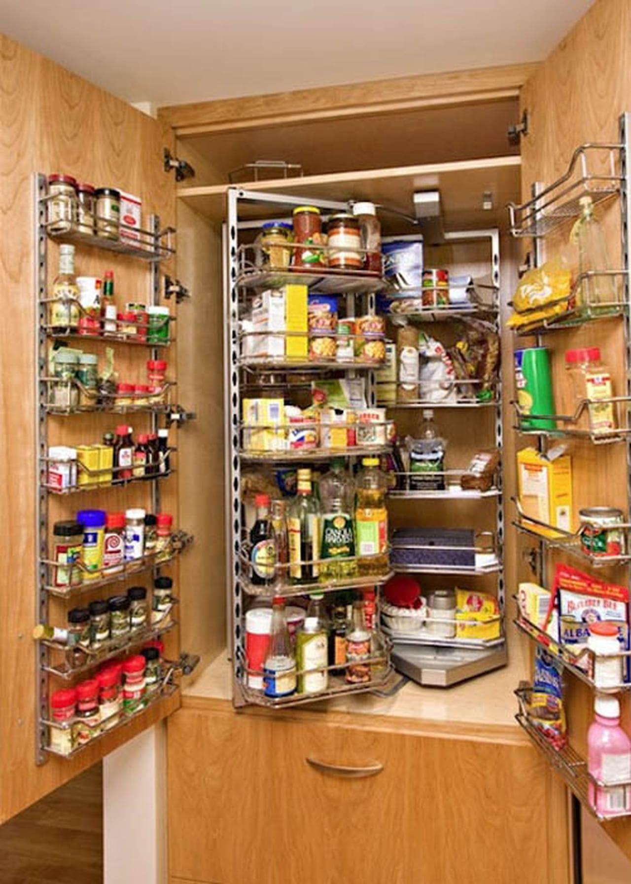 أفكار جذابة من ديكورات المطابخ العصرية لترتيب وتنظيم المطبخ