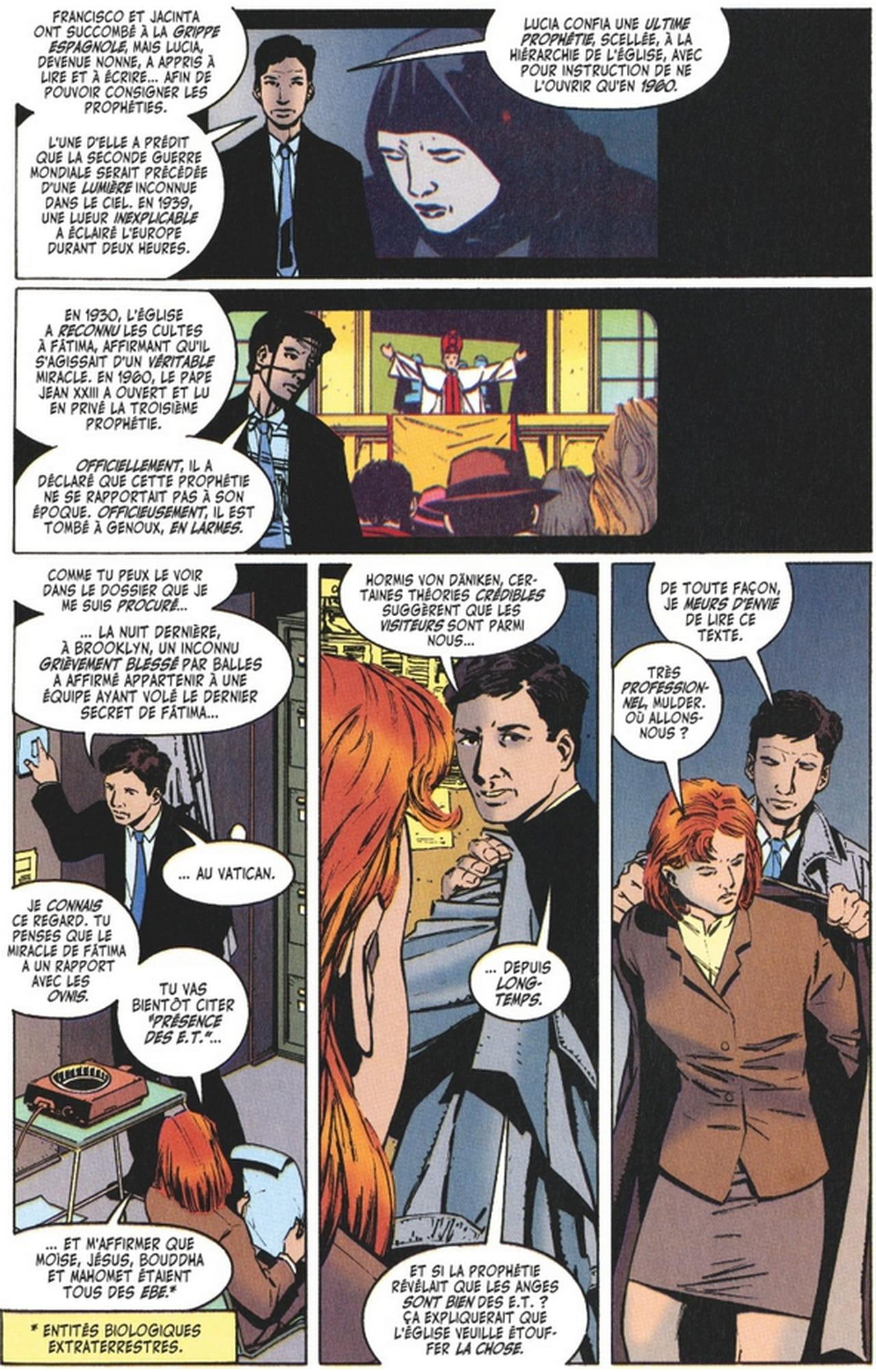 X-Files Tome 3, La Preview ! 895237