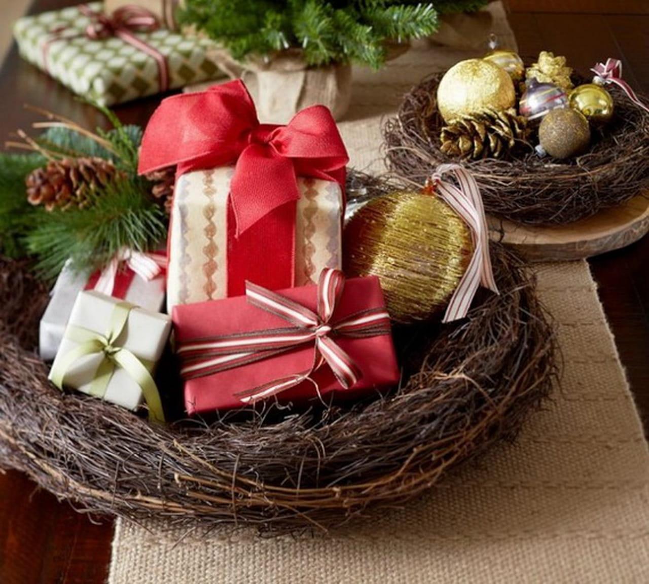 Украшения для новогодних подарков
