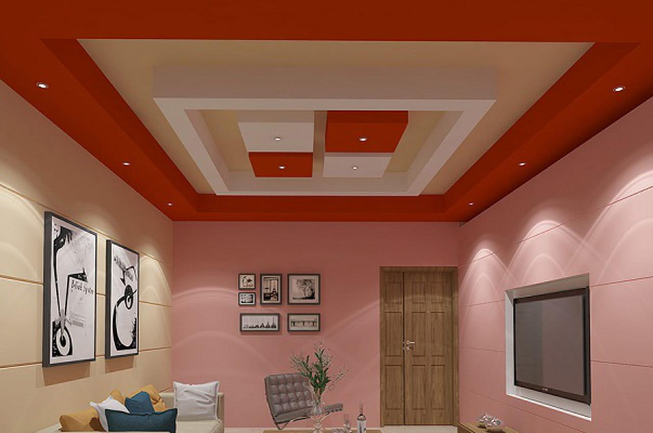 بالصور ديكورات اسقف جبس لجميع غرف المنزل