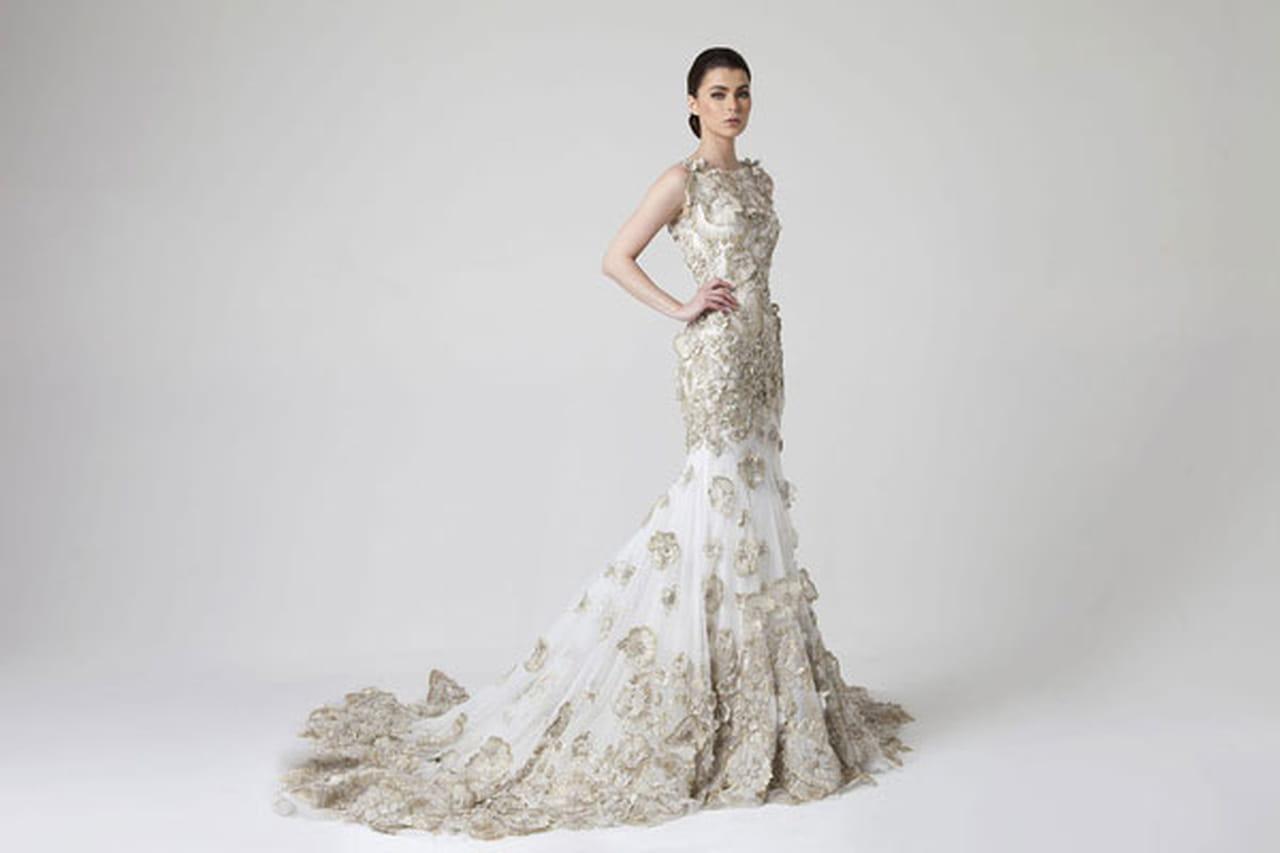 f624946cb6f22 أجمل تصاميم فساتين الزفاف من راني زاخم Rani Zakhem لربيع وصيف 2014