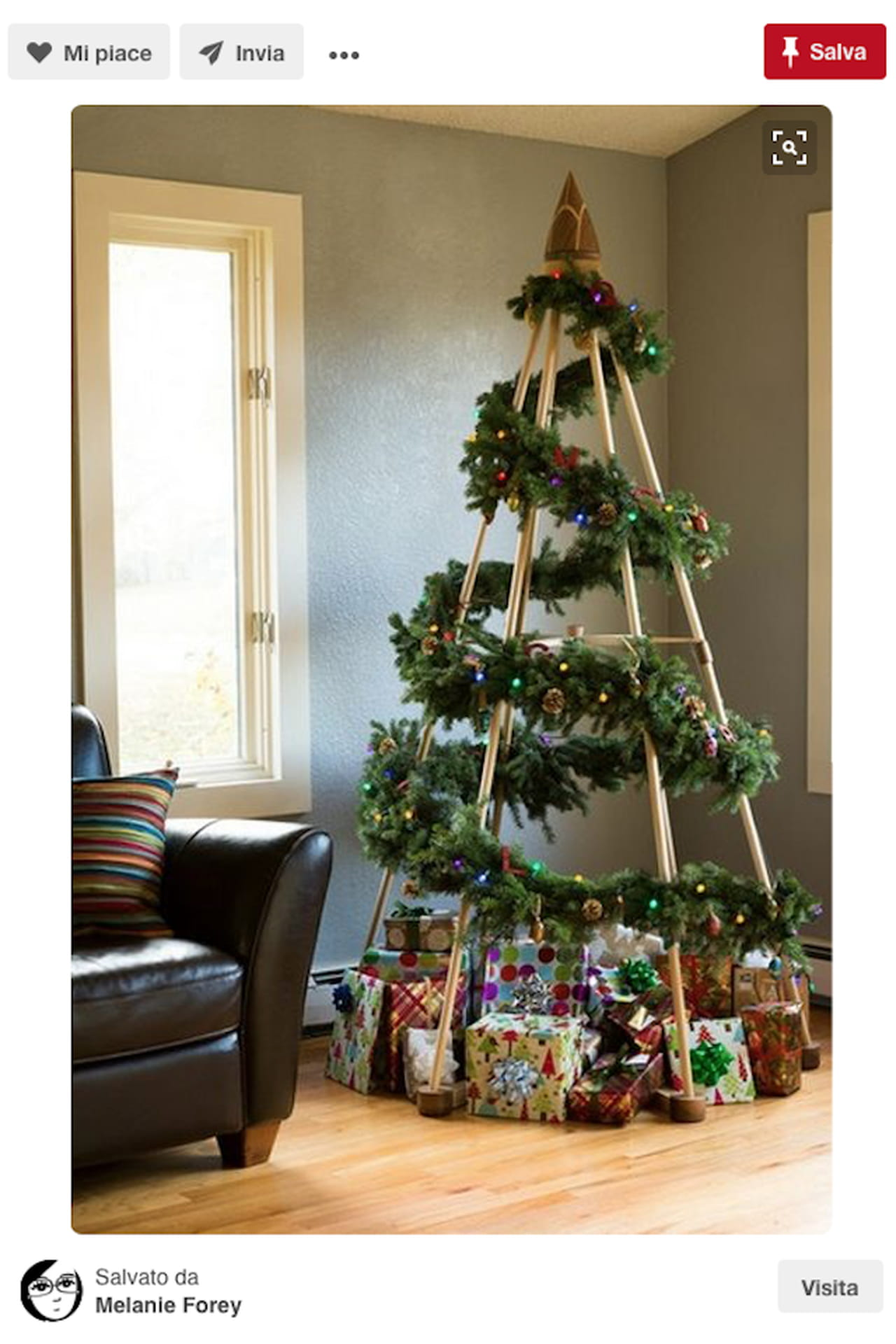 Ben noto Alberi di Natale: tradizionali o creativi? Spunti da Pinterest AW89