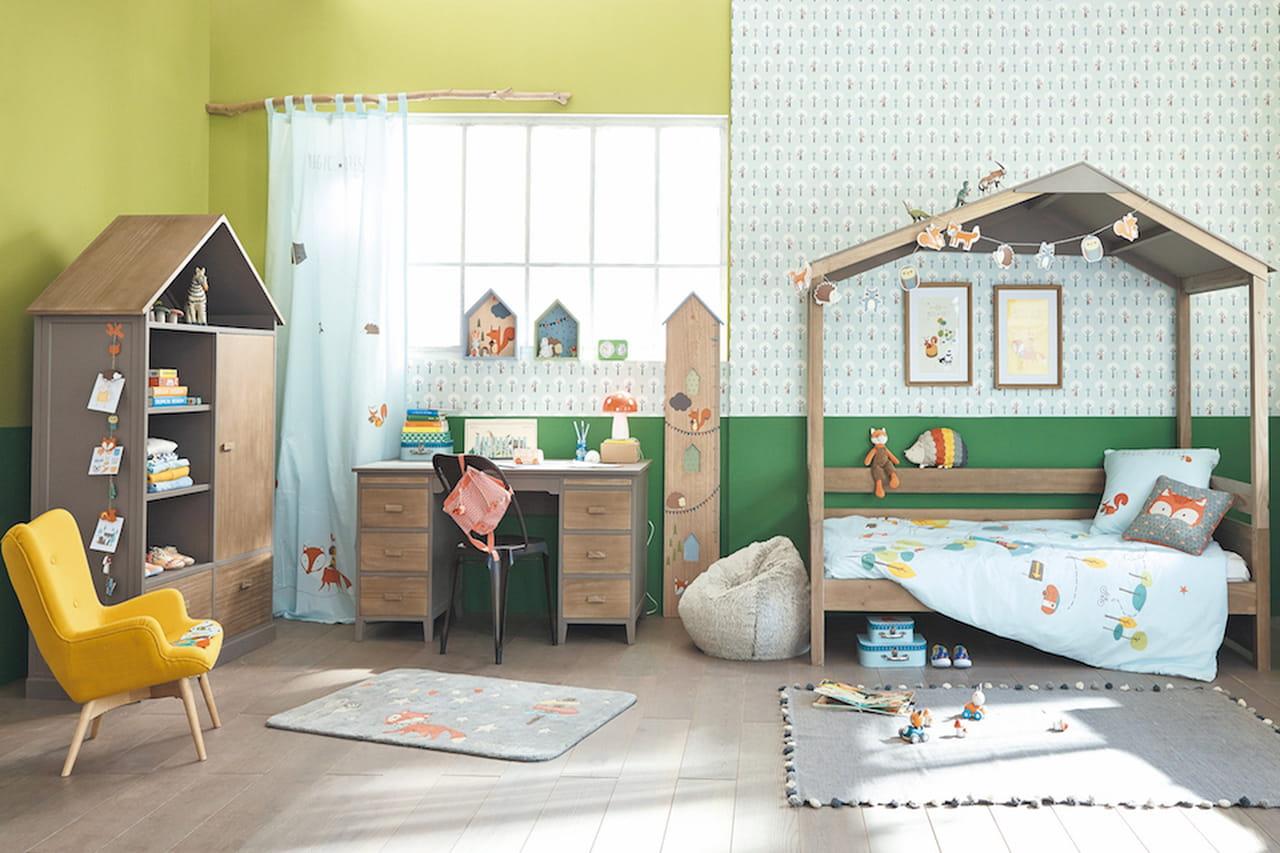 Camerette per bambini letti scrivanie e armadi salva spazio - Arredare camerette per bambini ...