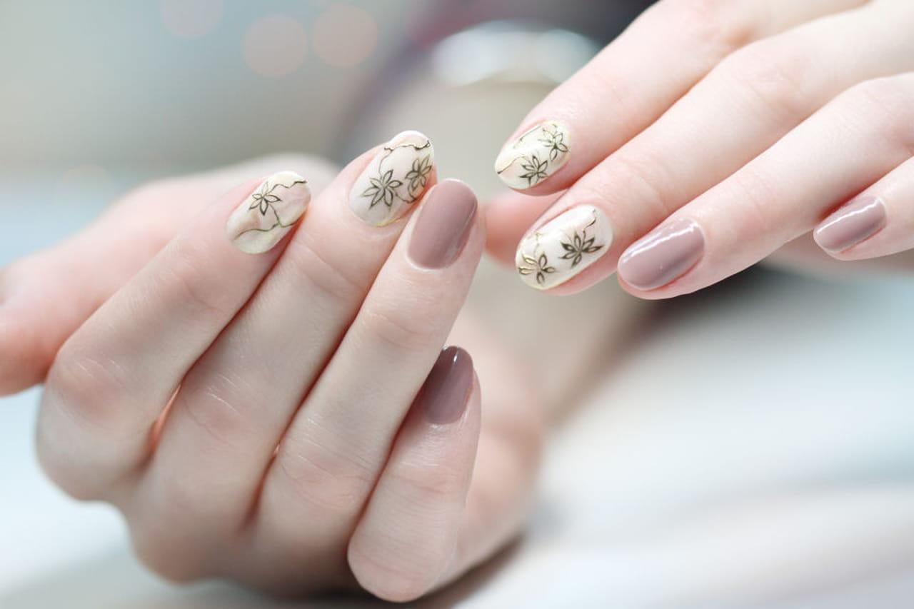 unghie gel disegni