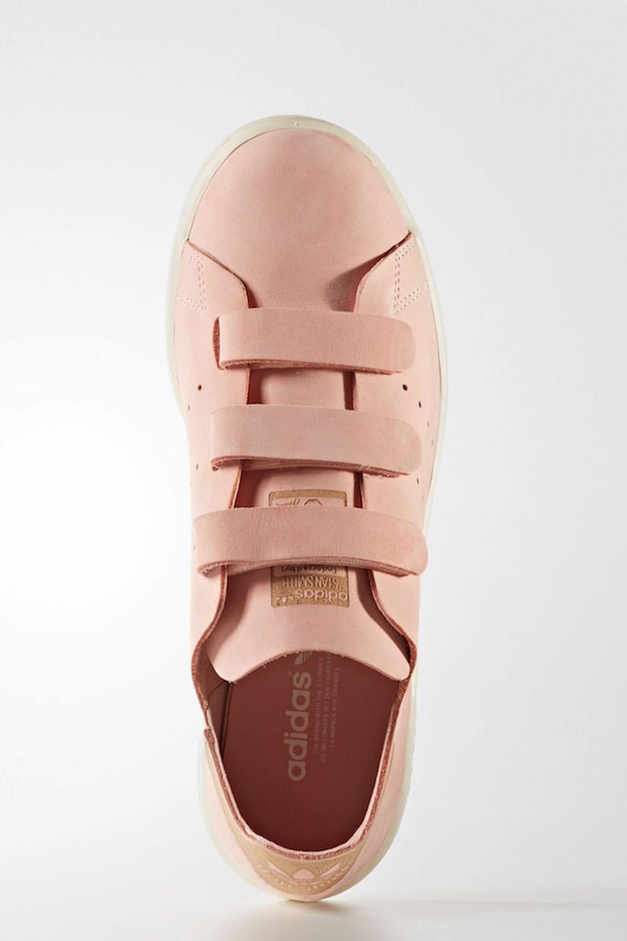 adidas stan smith rosa antico