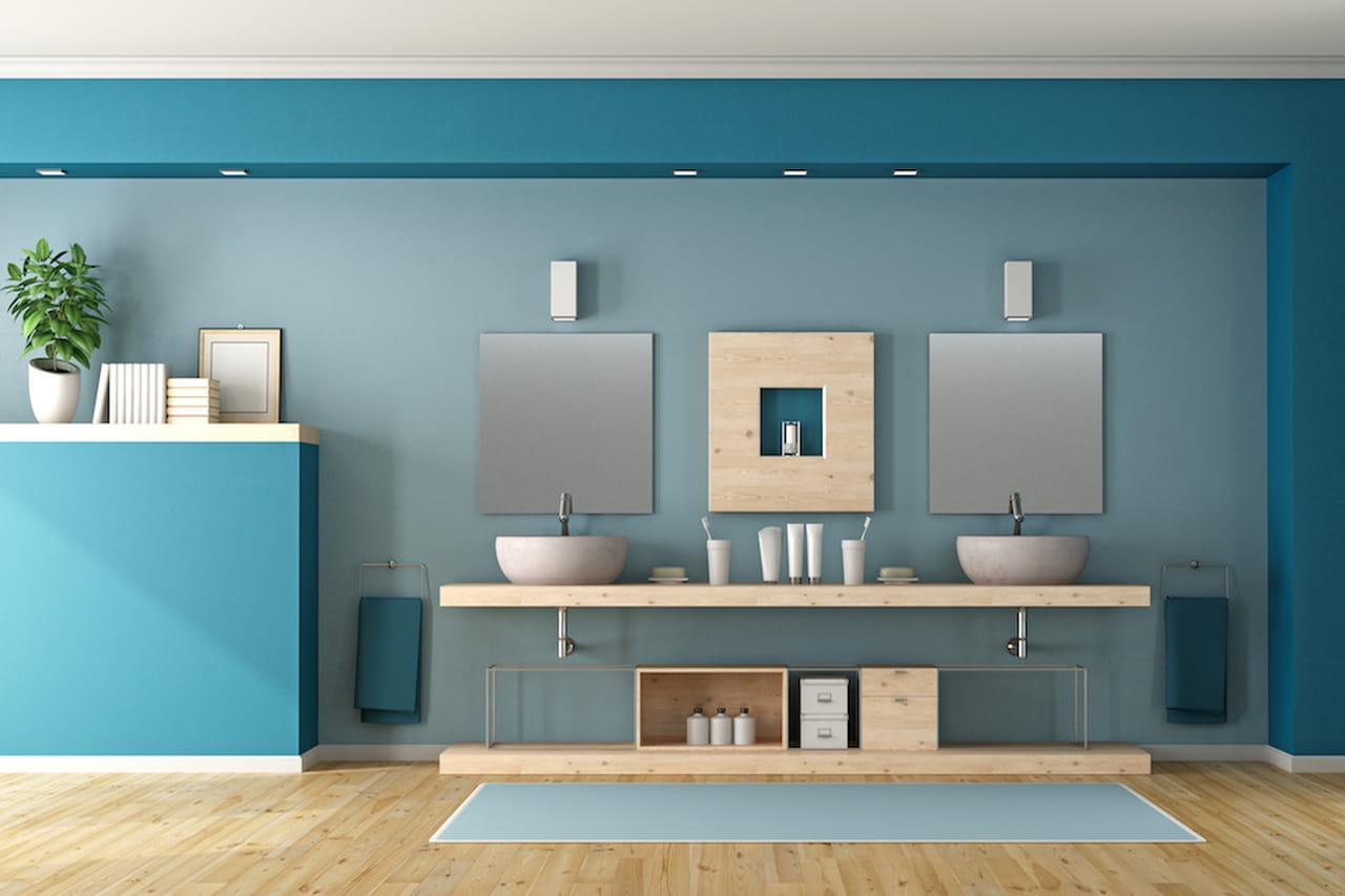 Pareti Interne Colorate : Colori pastello soluzioni per pareti non solo interne