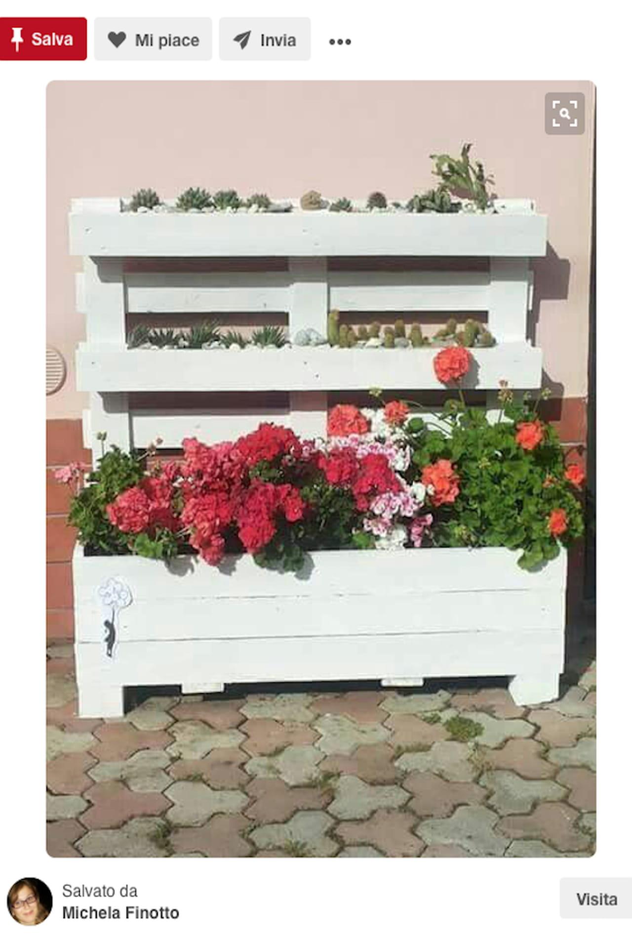 Creazioni fai da te idee giardino da pinterest - Pavimento da giardino fai da te ...