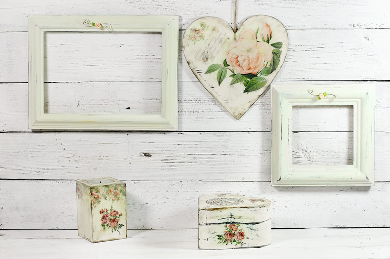 D coupage su legno carta forbici colla e pazienza - Decoupage su mobili in legno ...