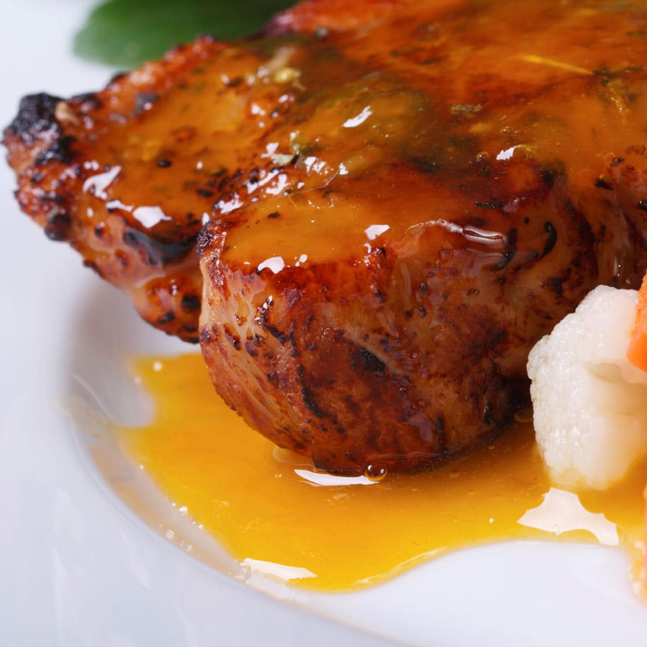 Ricetta filetto di maiale all 39 arancia - Filetto di maiale al porto ...