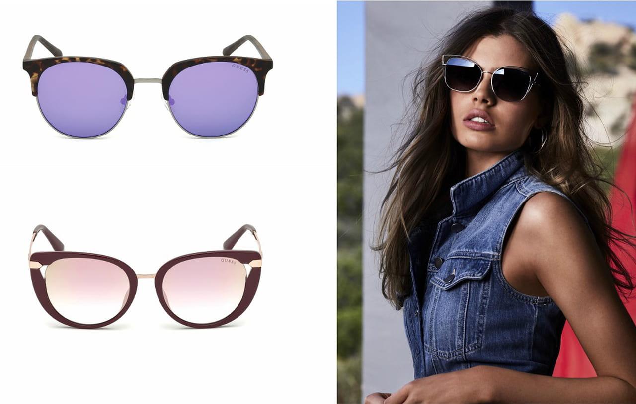 ecb067b3f تقدّم مجموعة نظارات Guess لربيع وصيف ٢٠١٨ مجموعة واسعة من النظارات الشمسية  المصمّمة بلمسات معاصرة، ممّا يعكس أسلوب حياة العلامة الذي ينبض بالشباب  والجرأة.