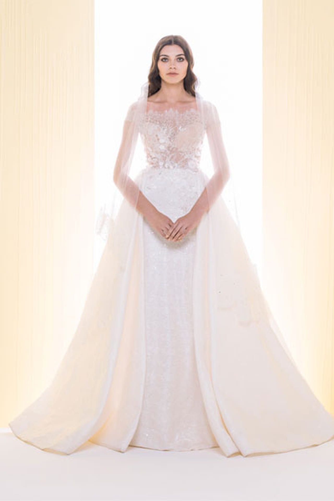 62b2a7276 فساتين زفاف سعيد قبيسي 2016 - صورة رقم 1