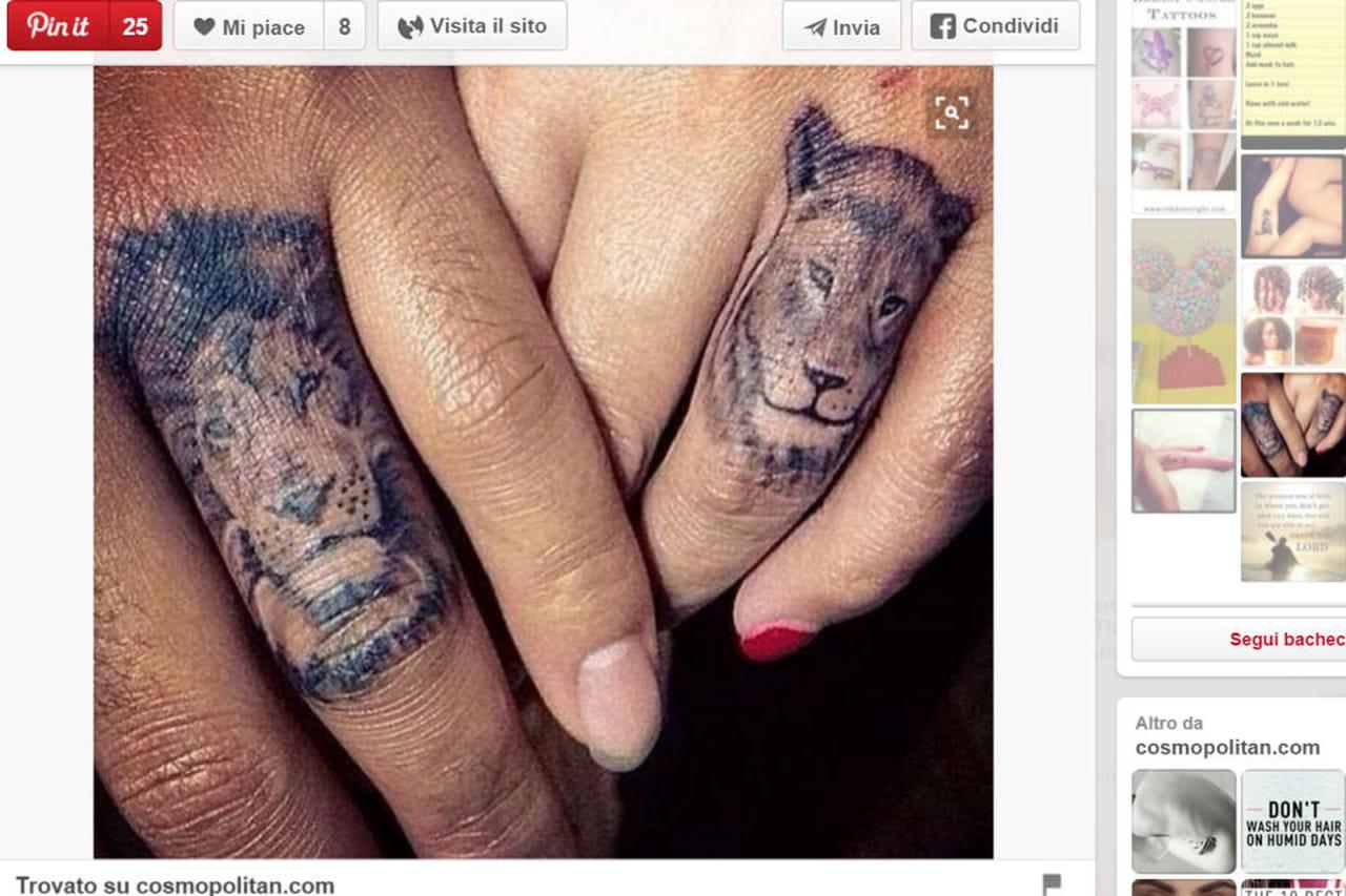 Ben noto Tatuaggi sulle dita: ispirazioni da Pinterest DI39