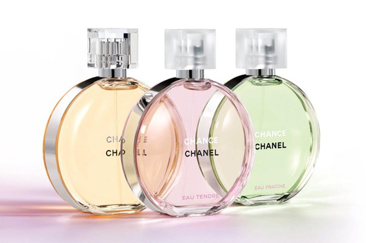872d09737 مجموعة Chanel Chance بأحجام جديدة للعام الجديد