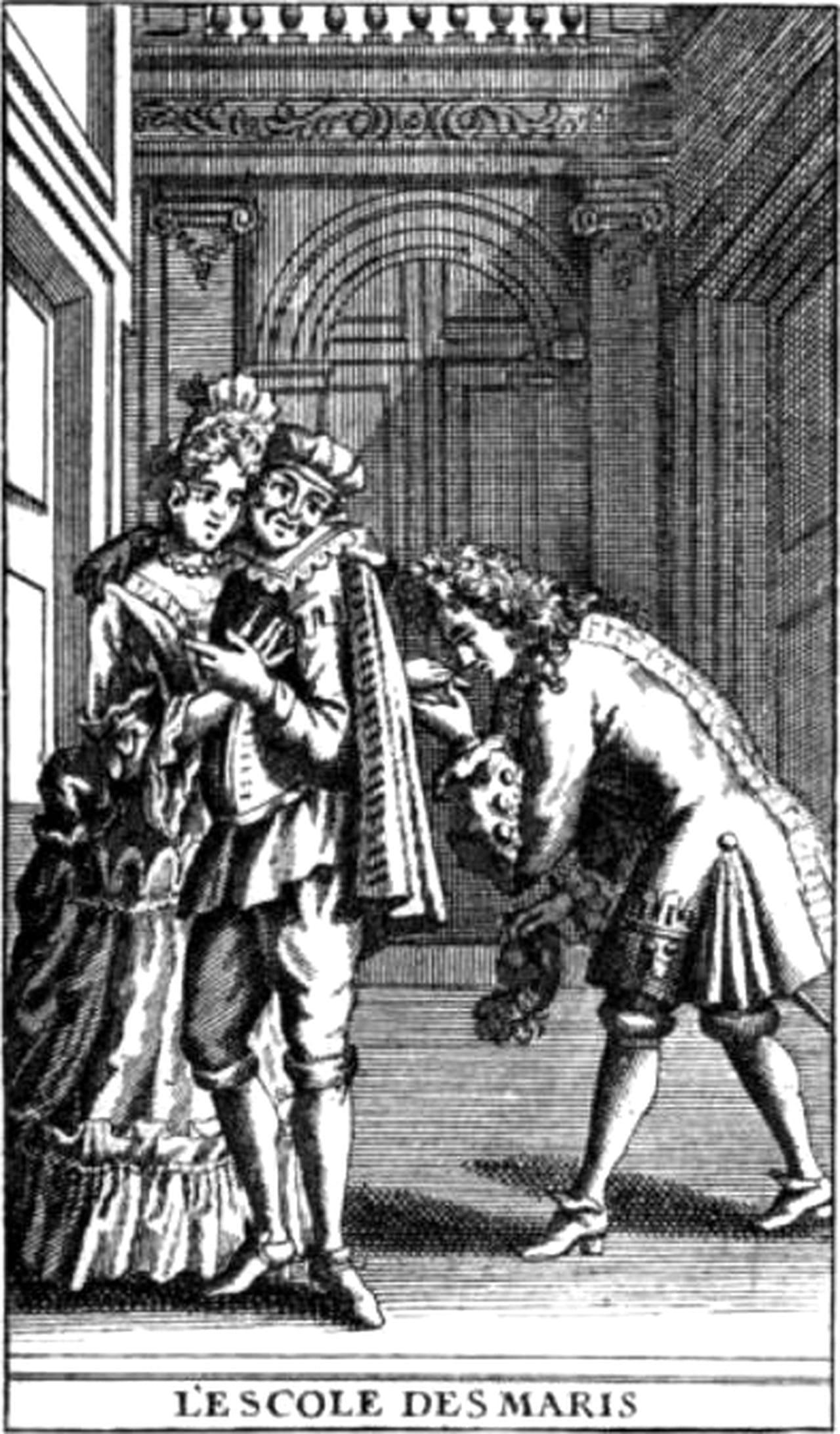 L\'École des maris de Molière : Résumé