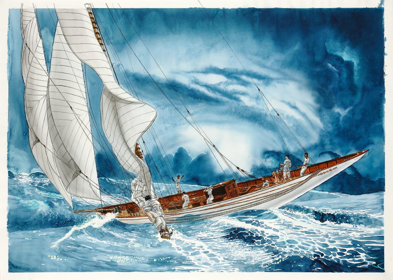 la mer est la plus belle h ro ne de 39 la ballade de magdalena 39. Black Bedroom Furniture Sets. Home Design Ideas