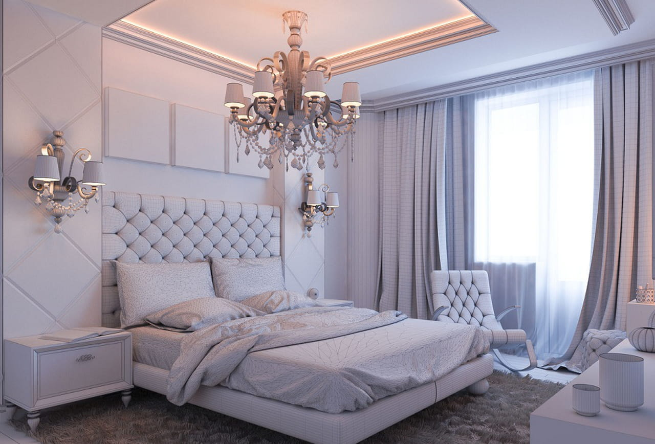 بالصور 4 طرق لتنسيق ديكورات جبس غرف النوم