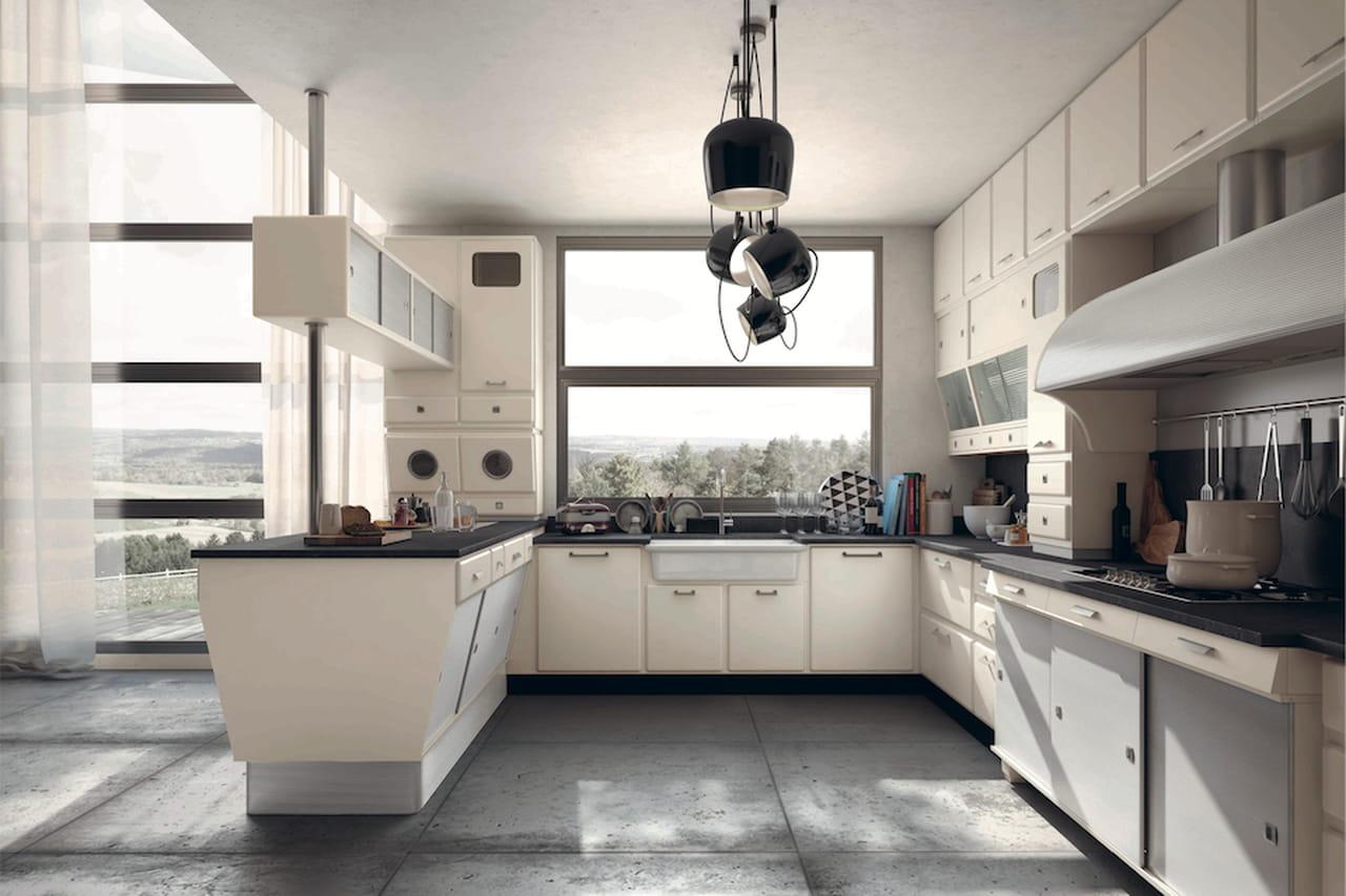 Cucine a penisola cucina moderna con penisola with cucine for Cucine moderne con penisola