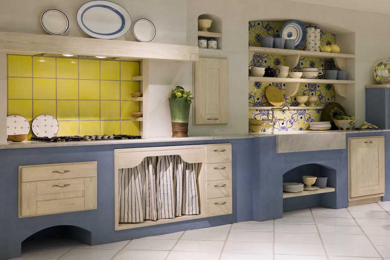 Cucina in muratura la tradizione personalizzata - Foto cucina in muratura ...