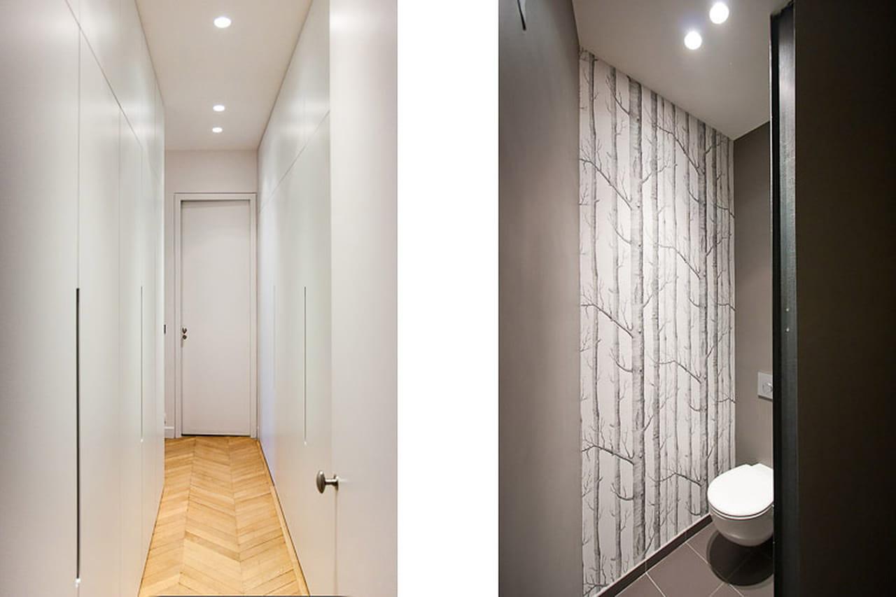 Un appartamento parigino all 39 insegna dei contrasti - Telecamera nascosta nel bagno delle donne ...