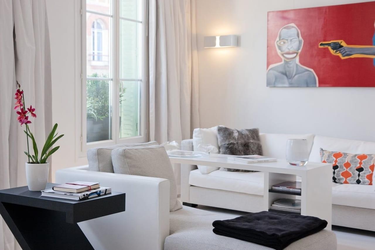 Aprenda A Decorar Uma Sala Branca -> Cor De Parede Para Sala Clara
