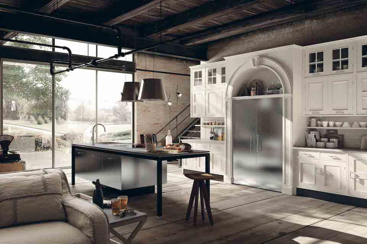 Arredamento rustico di design la campagna in citt for Arredamento rustico moderno