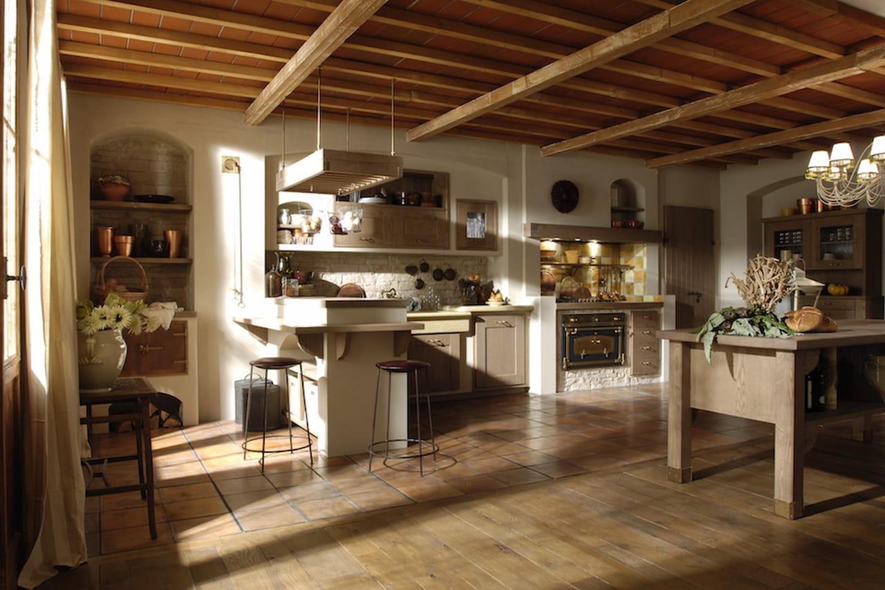Cucina In Muratura: Il Modello Iris Di Aurora Evoca La Tradizione. #382213 1280 853 Immagini Di Cucine A Gas