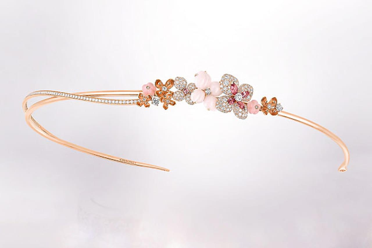صور سحر الأزهار المجموعة الجديدة لمجوهرات Chaumet