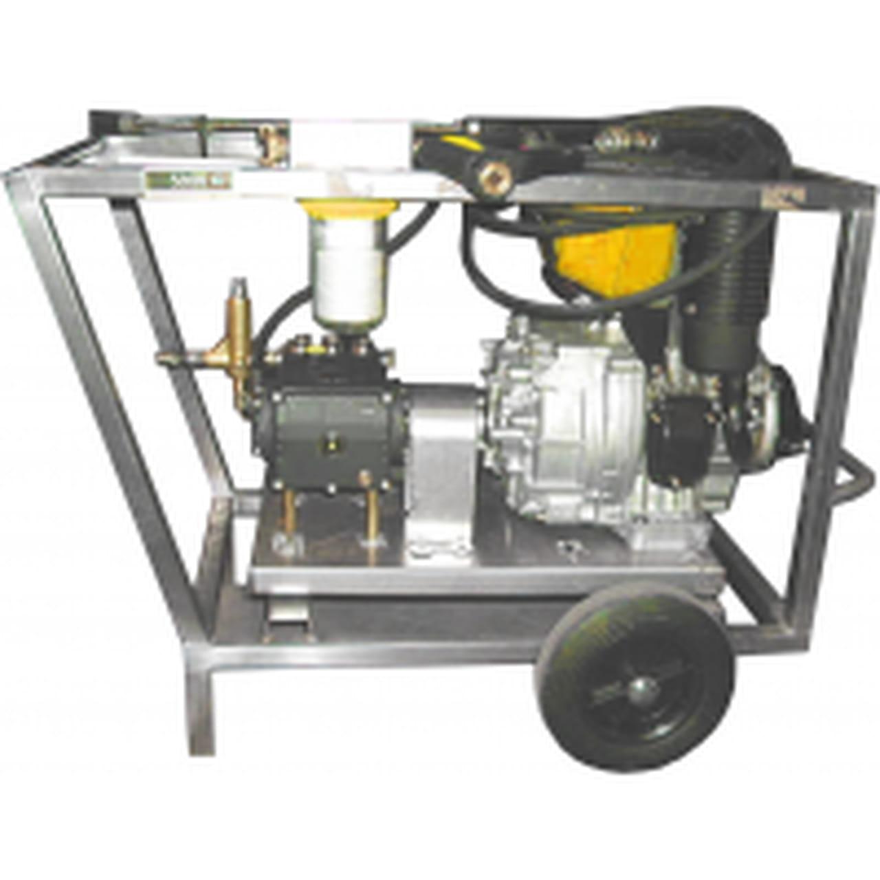 Nettoyeur haute pression diesel 200 bar 15 l mn - Nettoyeur haute pression 200 bars ...