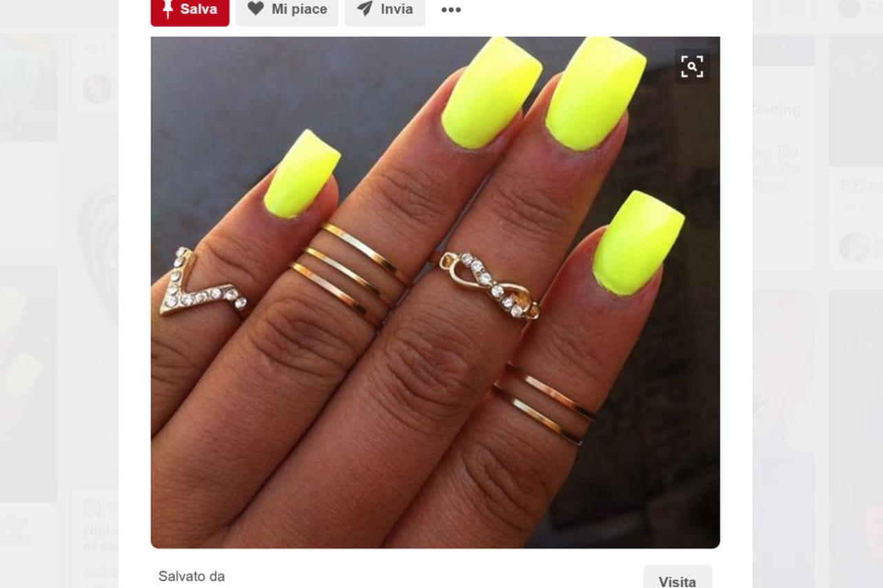 Famoso Unghie gel fluo: la nail art dell'estate 2016 HH72