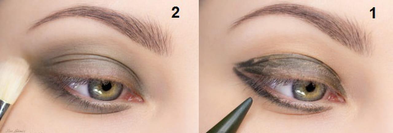 400629c62638f بالخطوات تعلمي طريقة تطبيق ماكياج مميز لعيونك الخضراء