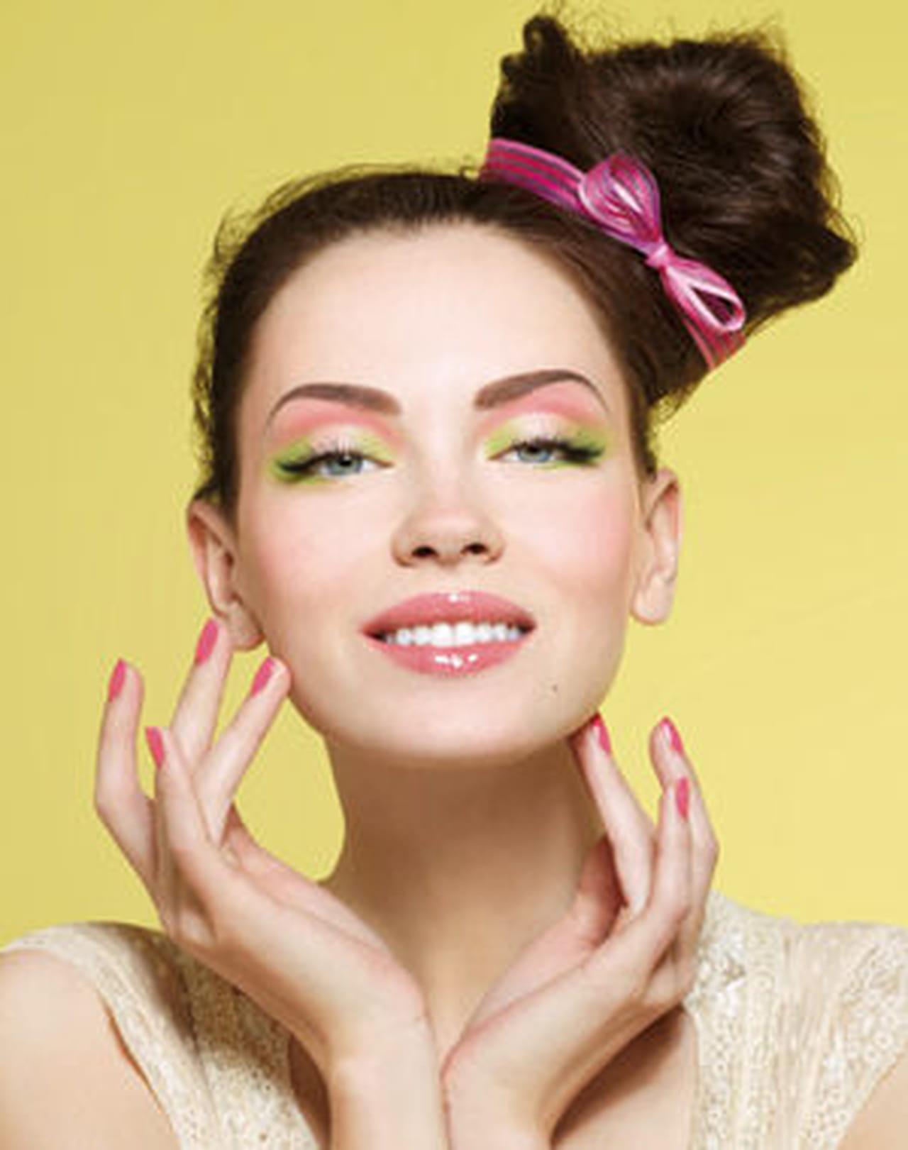 Фото макияжа для девушки летом