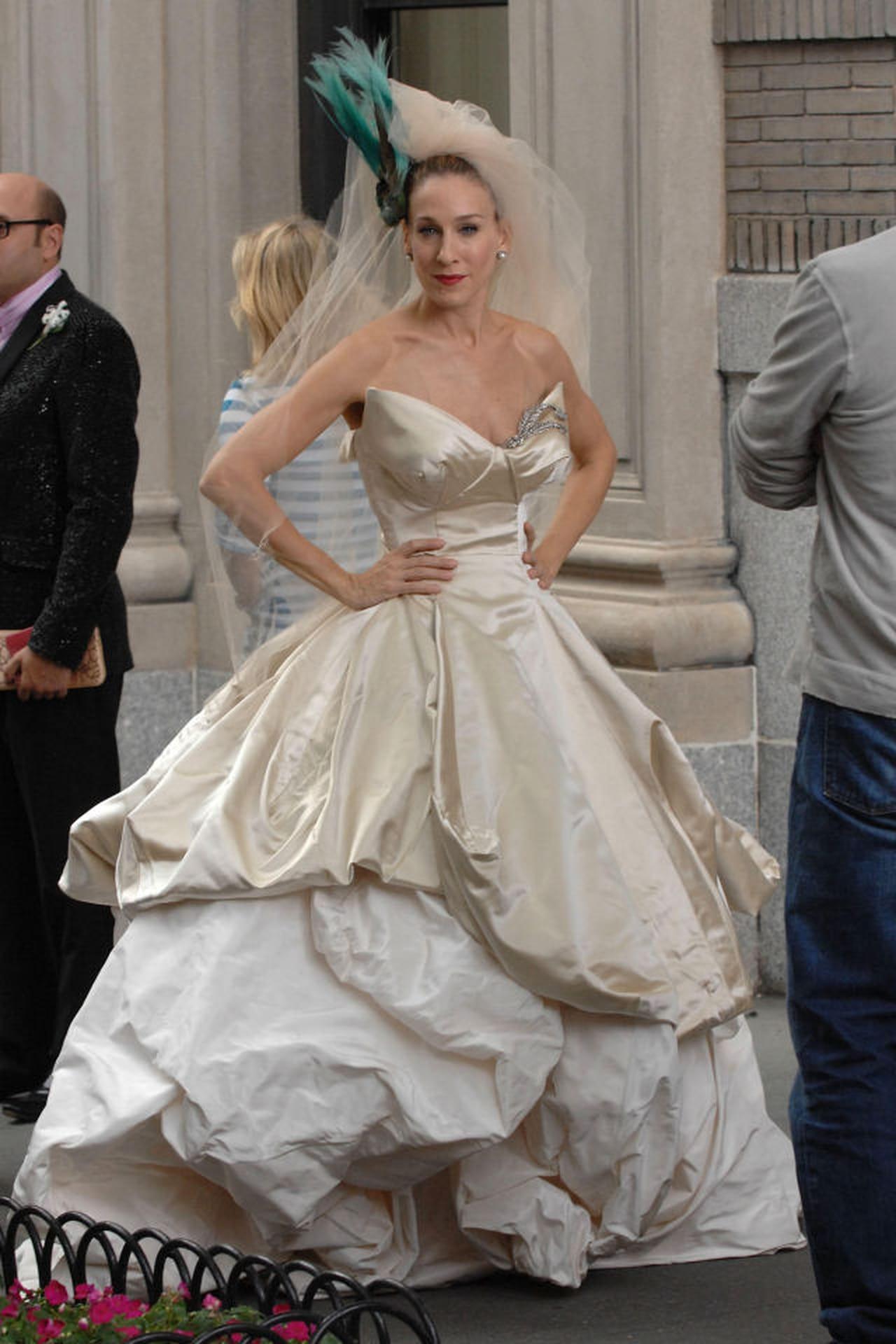 Ho sognato di indossare l'abito da sposa