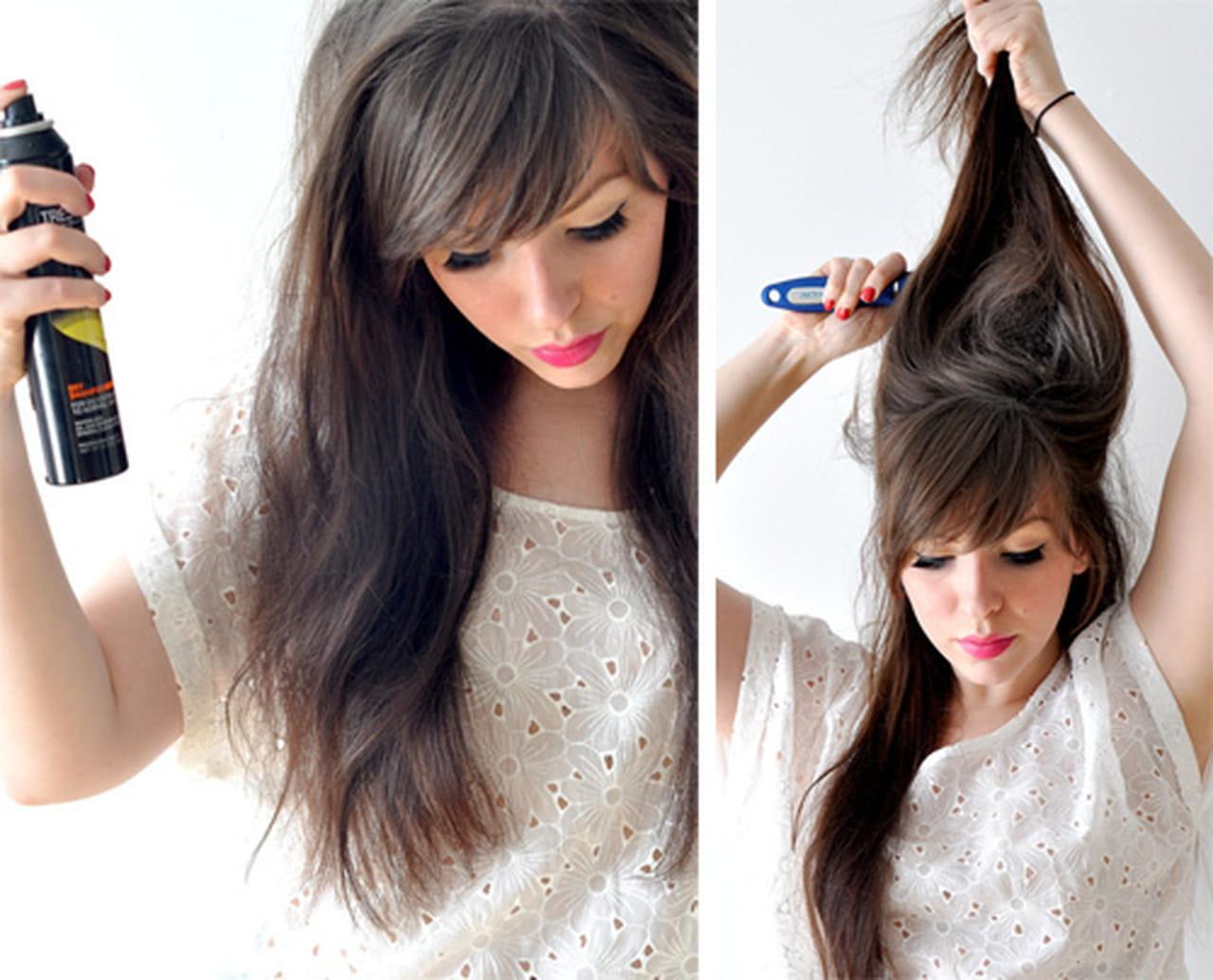 Укладка своими руками для дома волосы